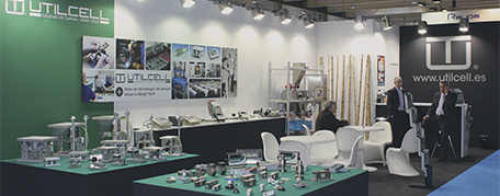 Utilcell stand at fair