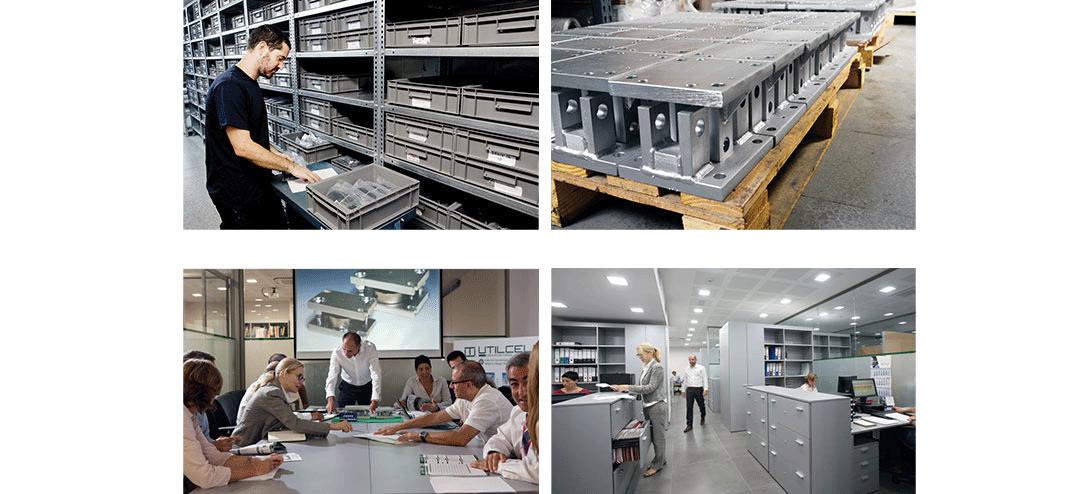 Logística para la fabricación de celulas de carga y electronica de pesaje